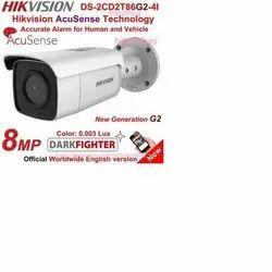 8MP Acusense Darkfighter Hikvision CCTV Camera