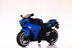 Kids Battery Operated Ride On Blue R1 Bike