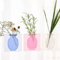 Wall Hanging Silicone Flower Pot Sticker- Silicon pot sticker