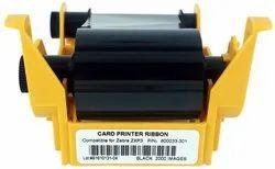 Zebra 800033-301 Black Monochrome Ribbon for ZXP3 ZXP Series 3 Card Printer 2000 Prints
