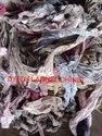 Dyed Flannel Chindi Waste Cloth