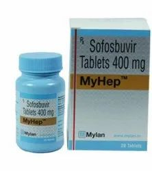 Myhep Infection Tablet 400 Mg, 28 Tablets, Prescription