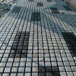 水泥方形石铺路块,厚度:60毫米