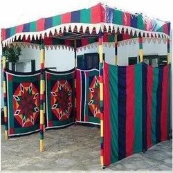 Colourful Shamiyana Tent