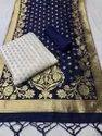 Banarasi Jacquard Dress Material