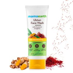 Mamaearth Ubtan Natural Face Wash For All Skin Type 100ml(Free Worldwide Shipping)