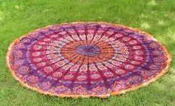 Yoga Mat Round Tapestry