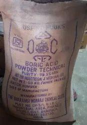 Boric Acid Powder, >99%, Packaging Size: 50 Kgs Jute Packaging