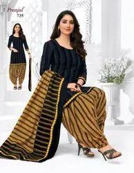 Pranjul Priyanka New Vol 7 Readymade Women Dress (Top, Bottom & Dupatta) 725 To 736