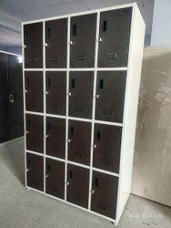 Mild Steel Paint Coated Staff Locker, For Office, No Of Lockers: 16 Lockers