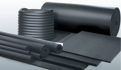 Black Insulation Material