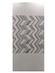 White And Grey Glossy 12 mm Printed Digital Ceramic Wall Tiles