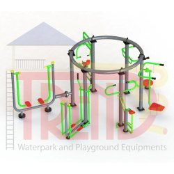 Circular Combination Gym Equipments Set