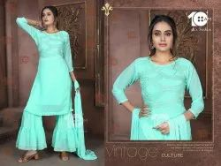 Exclusive Party Wear Sharara Suit