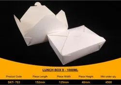 Disposable Paper Food packing Box 1000ml