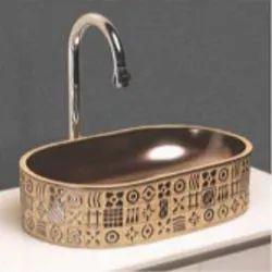 Multicolor Ceramic Table Top Wash Basin