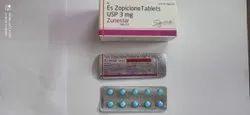 ES Zopiclone Tablets USP 3 Mg