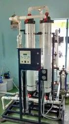 Automatic Ultrafiltration Plant for Sewage