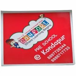 PP Flute Board Printing, For Advertisement, Packaging Type: Box