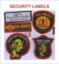 Woven Security Label
