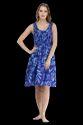 Printed Polyester Ladies Short Smoke Dress, Machine And Handwash, Size: Xl