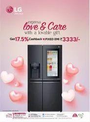 Black GC-X247CQAV LG Two Door Refrigerator, Capacity: 668 L