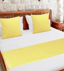 Yellow Bed Runner