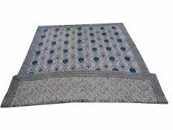 HandBlock Design Cotton Quilt