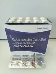 Carbamazepine CR 200mg Tablets