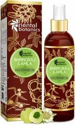 Oriental Botanics Bhringraj & Amla Oil 200ml(Free Worldwide Shipping), Liquid