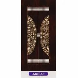 Brown 7 Feet AKS-53 Chemical Laminate Doors