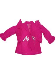 Girl Kids Designer Red Top