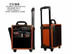 Real Sound Cube 36NS Dual Channel Echo Trolley Speaker