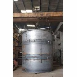 Stainless Steel Polymer Chemical Reactor, Capacity: 100000 Liter, Material Grade: SS 304