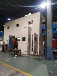 Acoustic Enclosure For Machinery, Test Rig