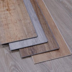 Pvc Stone Polymer Composite Vinyl Flooring, Thickness: 25 Mm