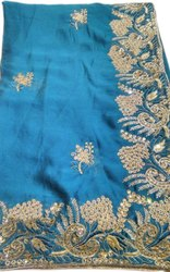 Ladies Fancy Blue Silk Saree