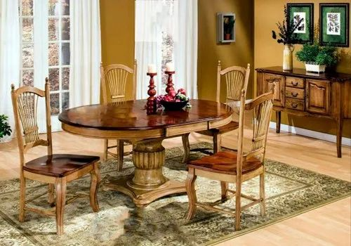 Star Furniture Brown Wooden Dining, Star Furniture Dining Table