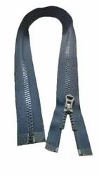 Black Cfc Vislon No.5 Triangle Puller Zipper, For Garments