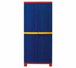 Blue Godrej Steel Designer Almirah, Size: 6 Feet