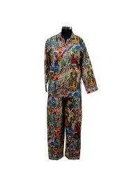 Frida Kahlo Print Cotton Night Suit