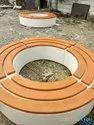 Round FRP Garden Bench