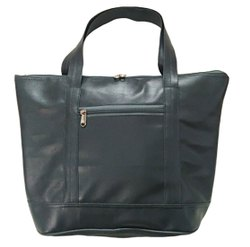 Vrinda Grey Pu Leather Ladies Hand Bag, For Office