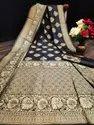 Presen Banarsi Silk Saree Beautiful Rich Pallu & Jacquard Work