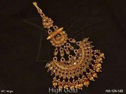 Polki Hair Accessory Jewellery