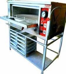 SS Single Deck Pizza Oven Machine