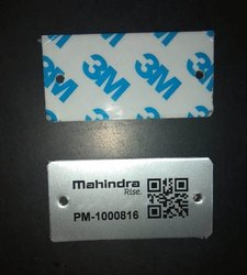 Aluminum Qr code labels