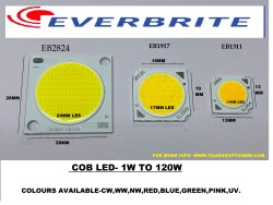 Cob Eb1311  3v-4v 300ma Blue 1w