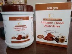 immunity booster chocolate protein, Packaging Type: HDPE, Packaging Size: 200gm Per Pack