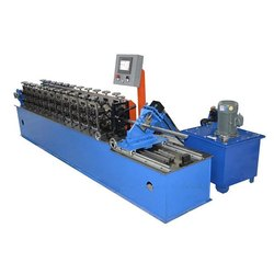 Omega Channel Hat Roll Forming Machine